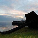 Greencastle Harbour by Sarah Cowan