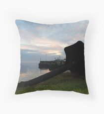 Greencastle Harbour Throw Pillow