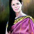 portrait of Jo-anne by Hidemi Tada