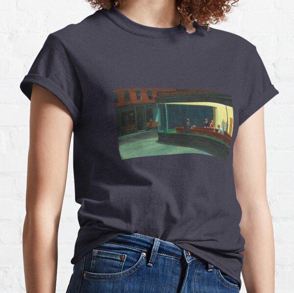 Nighthawks by Edward Hopper - 1942 Classic T-Shirt