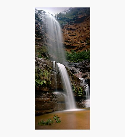 Wentworth Falls Vertical (Mid Falls) 2011 Photographic Print