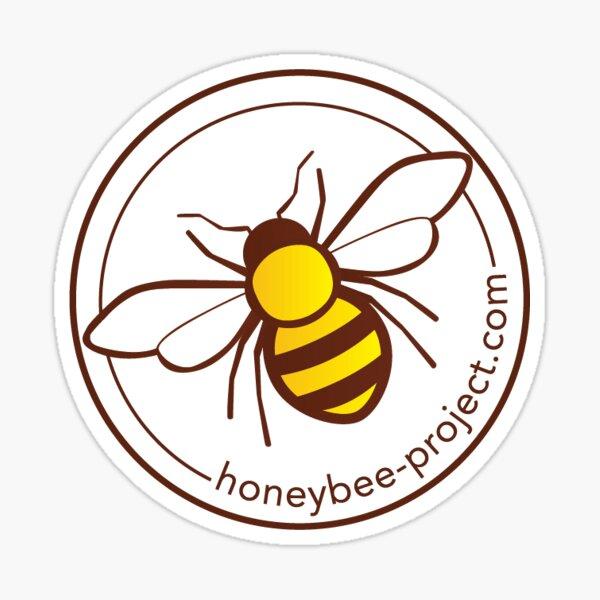 Honey bee sticker Sticker