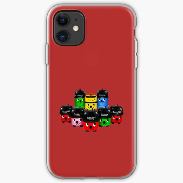 Henry Hoover and Friends iPhone Soft Case