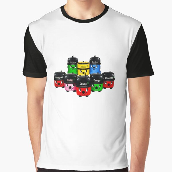 Henry Hoover and Friends Graphic T-Shirt
