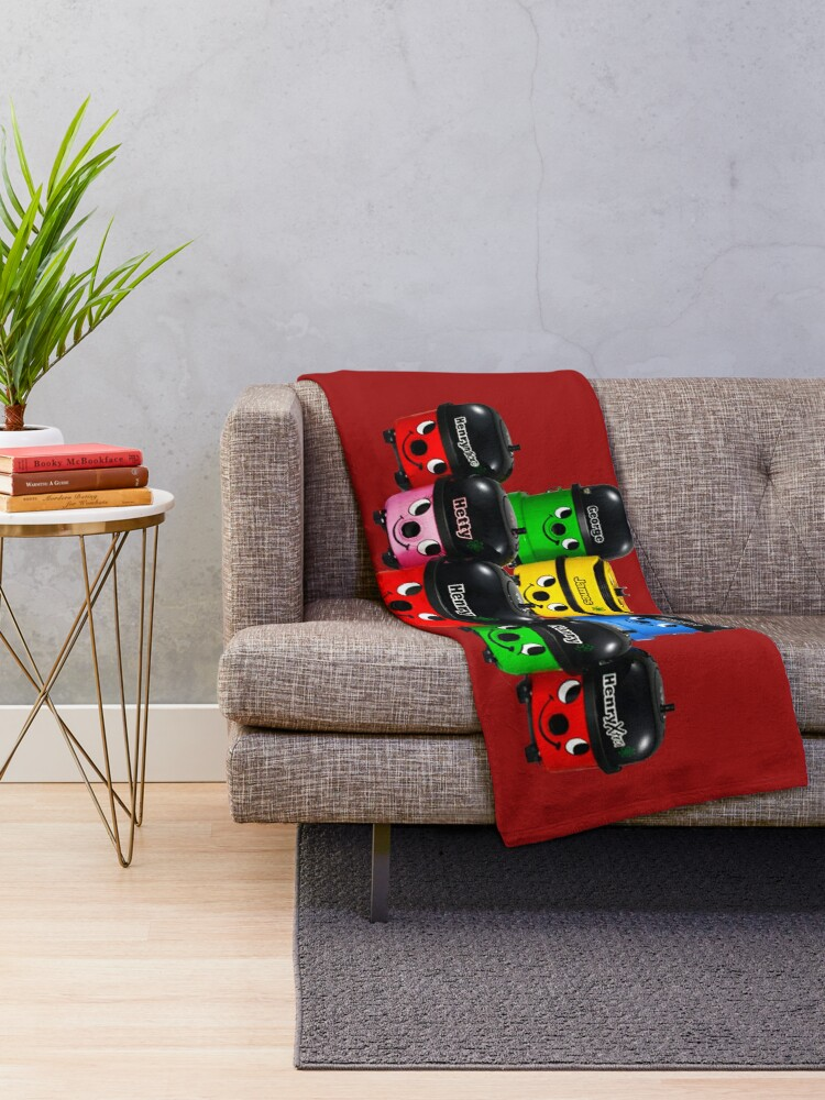Alternate view of Henry Hoover and Friends Throw Blanket