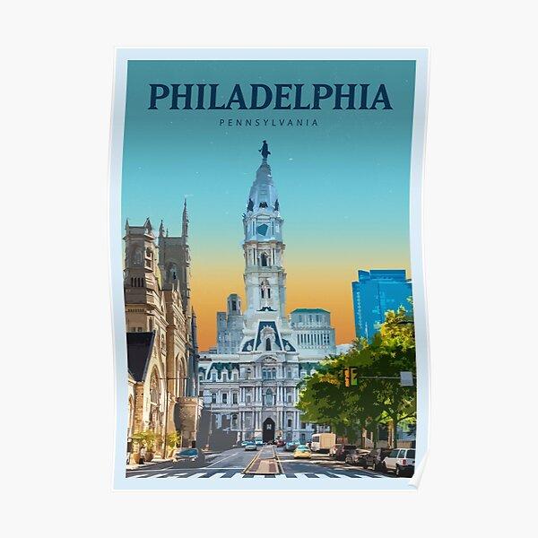 Explore Philadelphia Poster