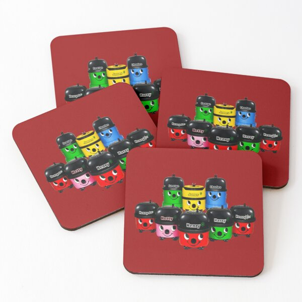 Henry Hoover and Friends Coasters (Set of 4)