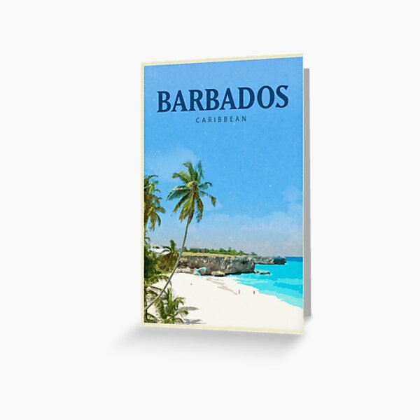 Explore Barbados Greeting Card