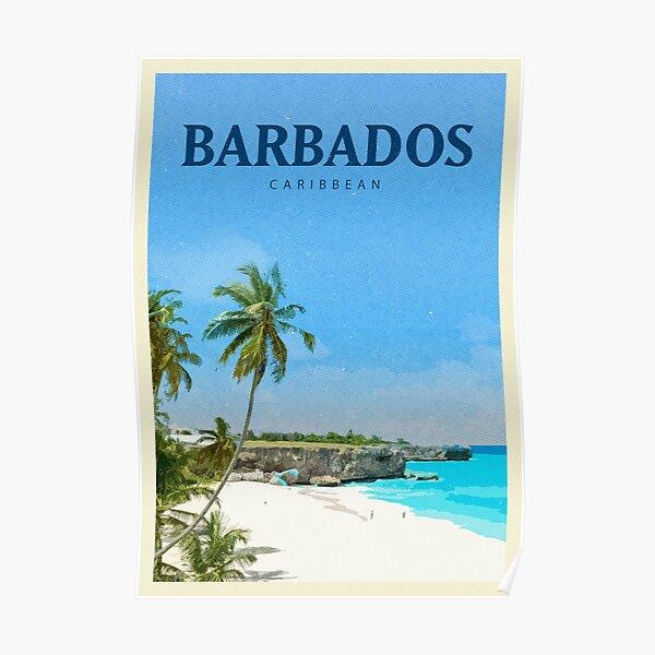 Explore Barbados Poster