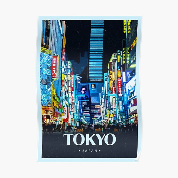 Explore Tokyo Poster