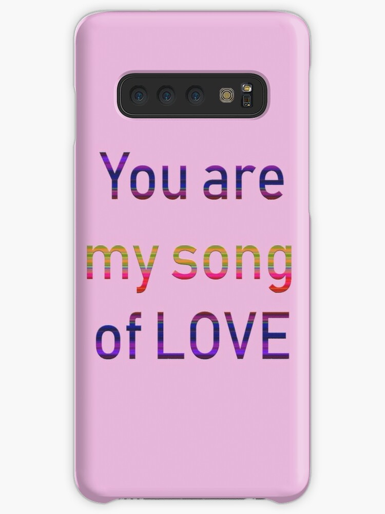 Boyfriend Girlfriend You Are My Song Girlfriend Boyfriend For Wife And Girlfriend Case Skin For Samsung Galaxy By Moyame Redbubble