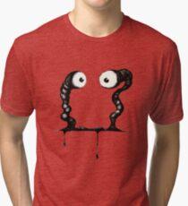 Worm Face Tri-blend T-Shirt