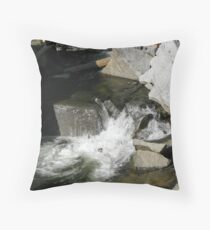 Bear Creek Slab Throw Pillow