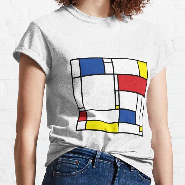 Mondrian Minimalist De Stijl Modern Art © fatfatin Classic T-Shirt