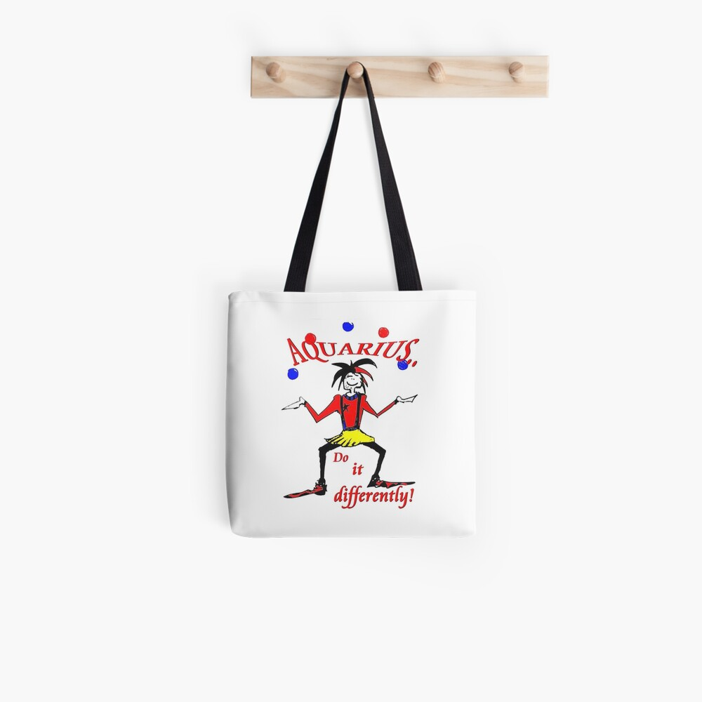Aquarius - do it differently Tote Bag