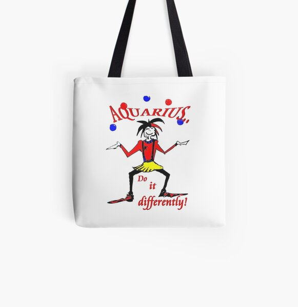 Aquarius - do it differently All Over Print Tote Bag