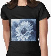 If Daisies Wore Blue Jeans  Women's Fitted T-Shirt