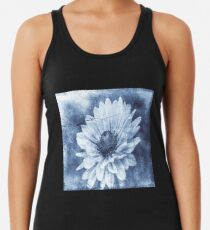 If Daisies Wore Blue Jeans  Racerback Tank Top