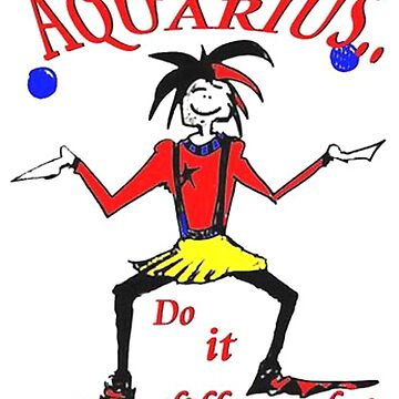 Aquarius - do it differently by AlisonWilkie