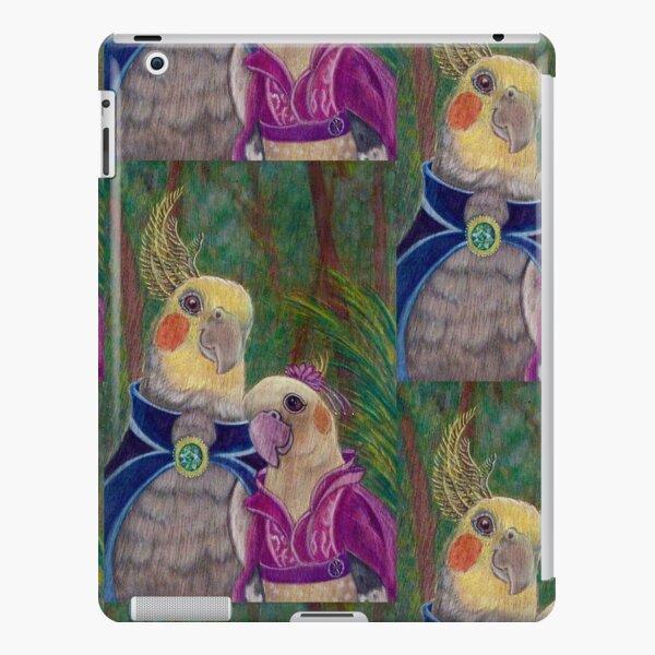 Kik'e the bird and his Girlfriend, Happy Couple of Australian Nymphs  iPad Snap Case