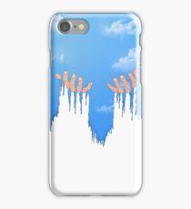 Le ciel coule sur mes mains iPhone Case/Skin
