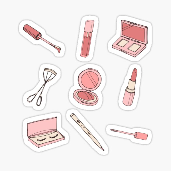 Makeup Set Sticker