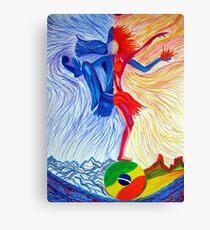 Samba-Shiva Canvas Print