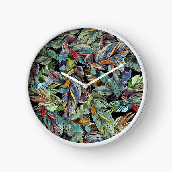 Paradise bird Clock