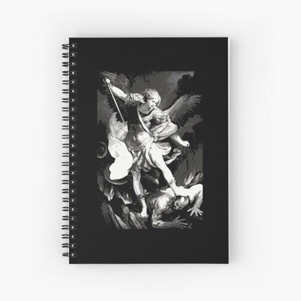 Saint Michael Archangel Spiral Notebook