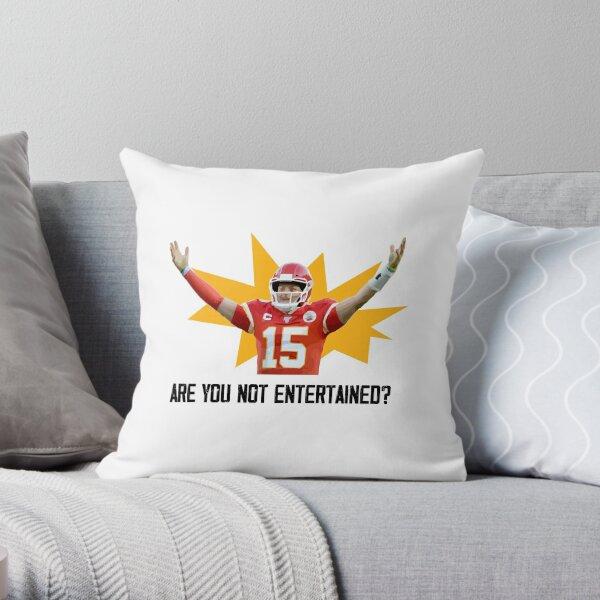 Mahome Boy, the True Gladiator - Football Design Throw Pillow