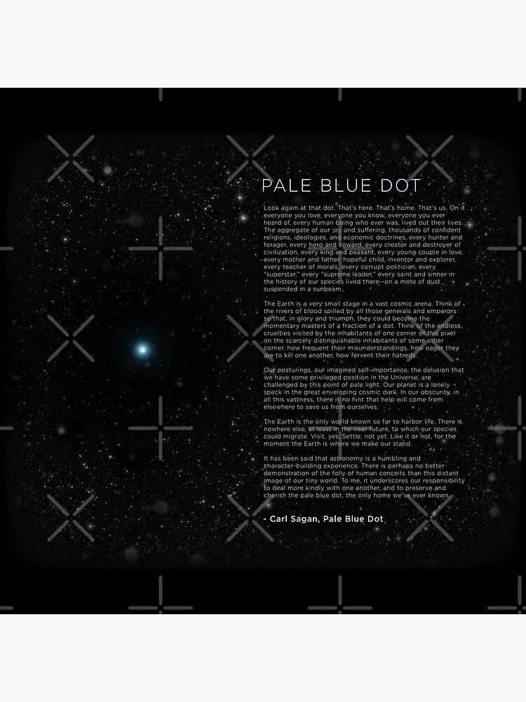 Carl Sagan's - Pale Blue Dot Speech by BrianSmith84