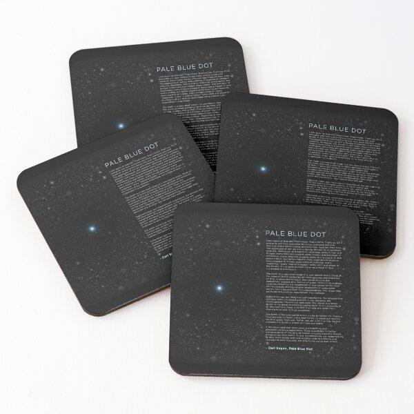 Carl Sagan's - Pale Blue Dot Speech Coasters (Set of 4)