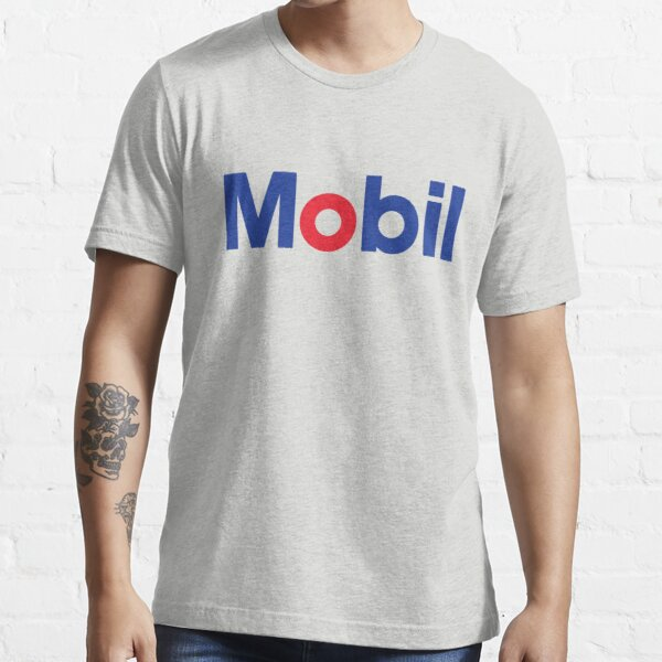 Mobil Gas Oil Rtro Distressed Faded Vintage Essential T-Shirt