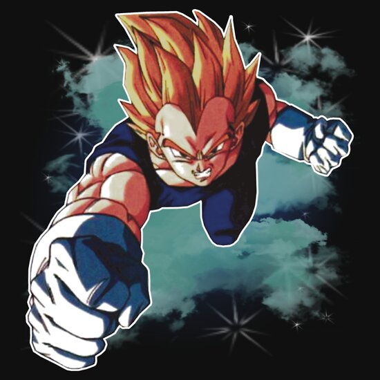 TShirtGifter presents: Super Saiyan Vegeta