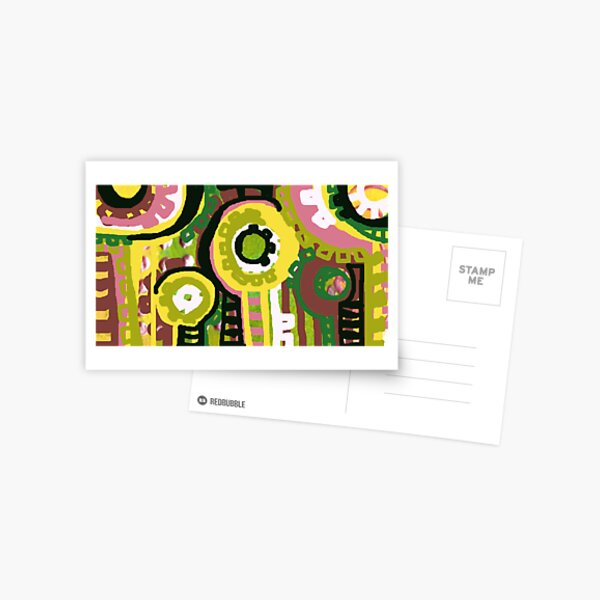 Yellow Trees Postcard