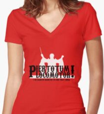 Piertotum Locomotor - I've Always Wanted To Use That Spell Women's Fitted V-Neck T-Shirt
