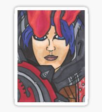 Athena Rising Sticker