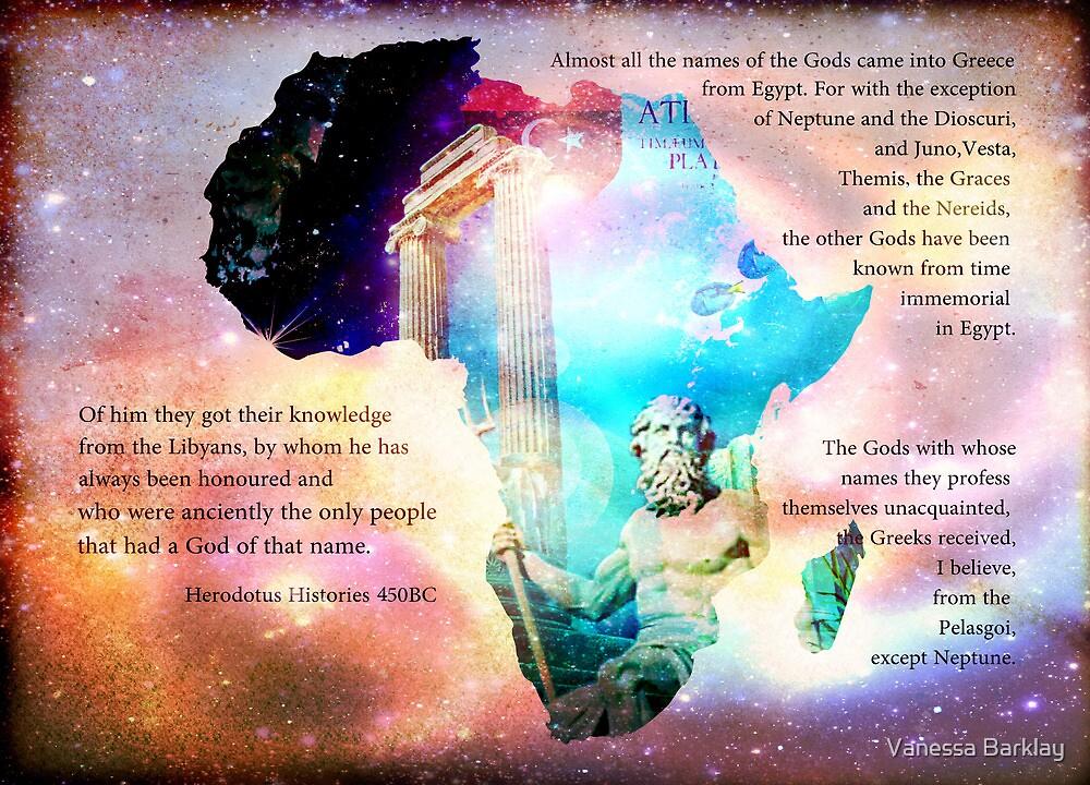 Long Live Libya - Land of Neptune by Vanessa Barklay