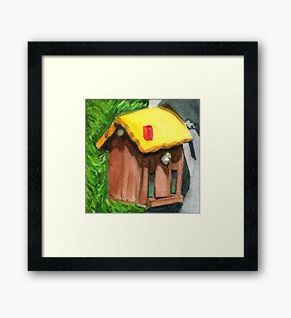 Tallac Birdhouse 4 Framed Print
