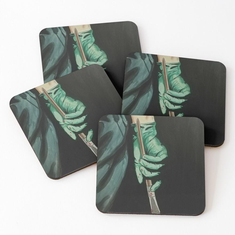 art scalpel  Coasters (Set of 4)