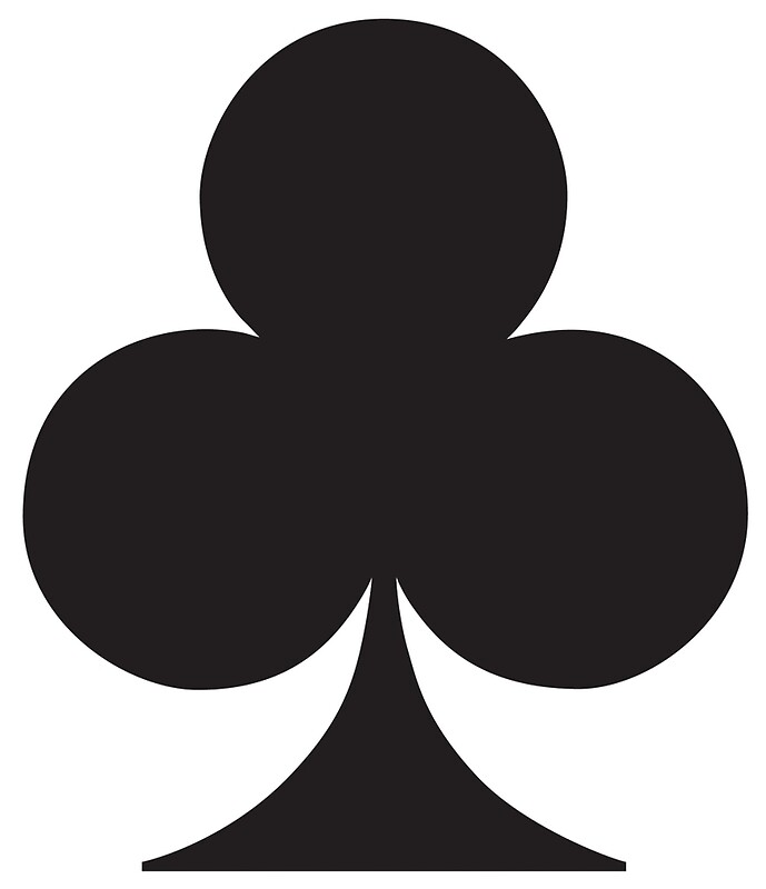 Quot Ace Black Ace Of Clubs Club Cards Game Suit Gangs