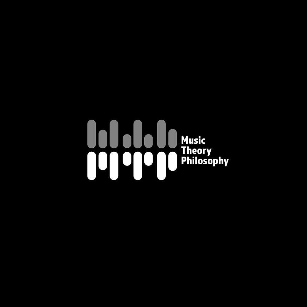 Music Theory Philosophy (White Logo) by Dean Nelson