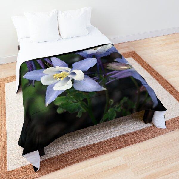 California Blue Columbine Comforter