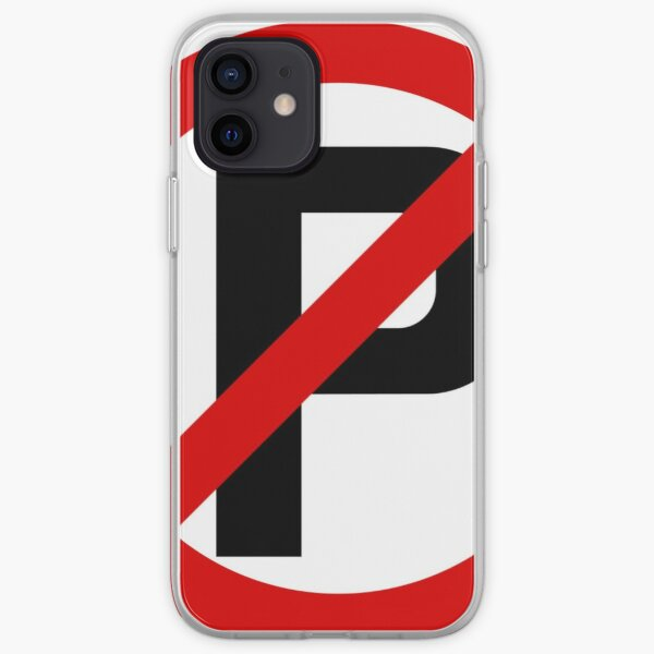 Road Signs - Restrictive Sign - No Parking iPhone Soft Case