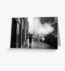 NYC: Umbrella Greeting Card