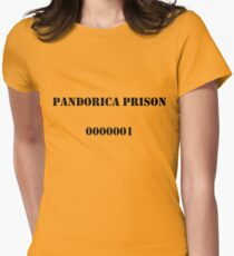 Pandorica Prison Women's Fitted T-Shirt