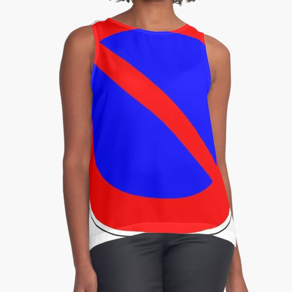 Road Signs - Restrictive Sign - No Parking Sleeveless Top