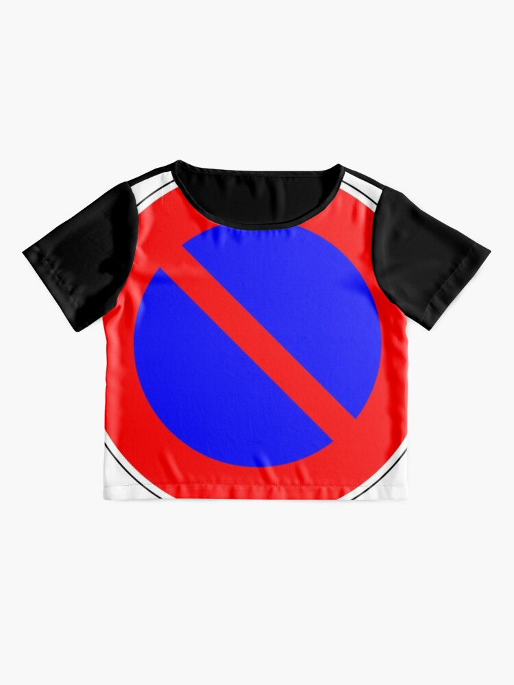 Alternate view of Road Signs - Restrictive Sign - No Parking Chiffon Top