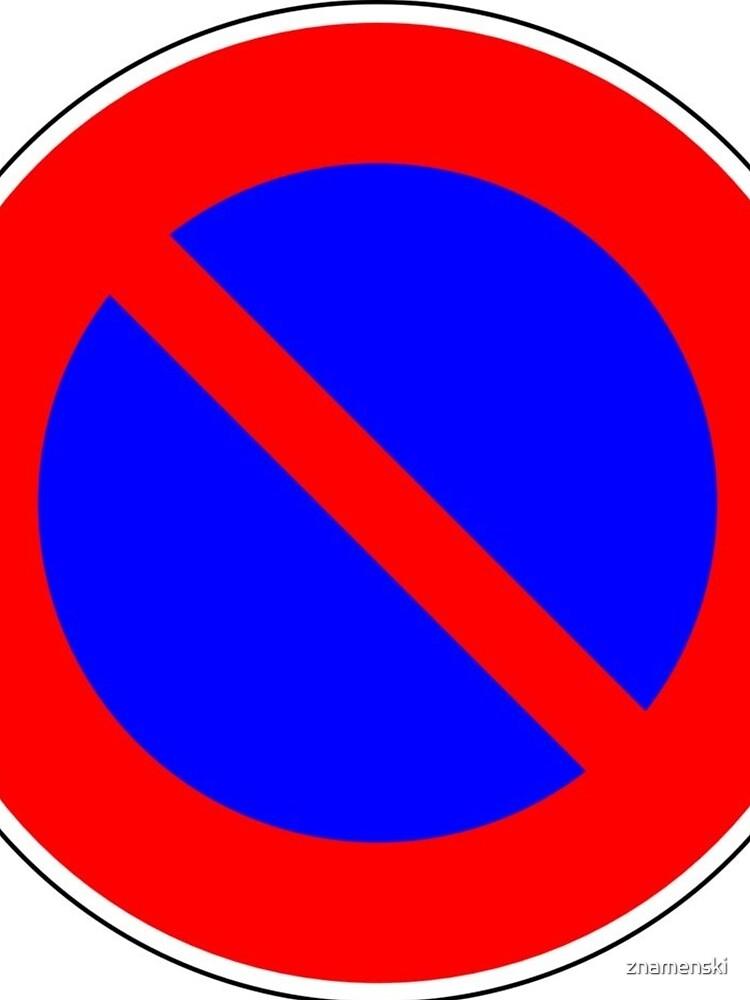 Road Signs - Restrictive Sign - No Parking by znamenski