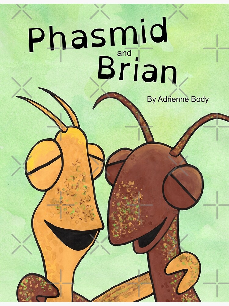 Cover Art - Phasmid and Brian by AdrienneBody